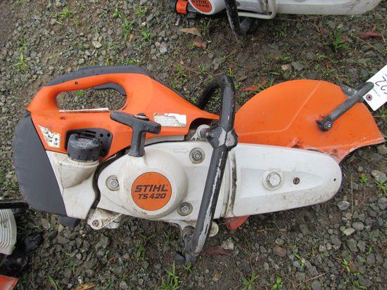 STIHL TS-420 CUT OFF SAW