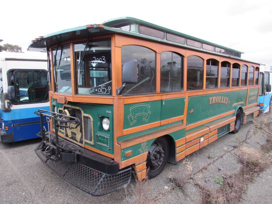 Online Only Bus & Trolley Auction (Off-Site)