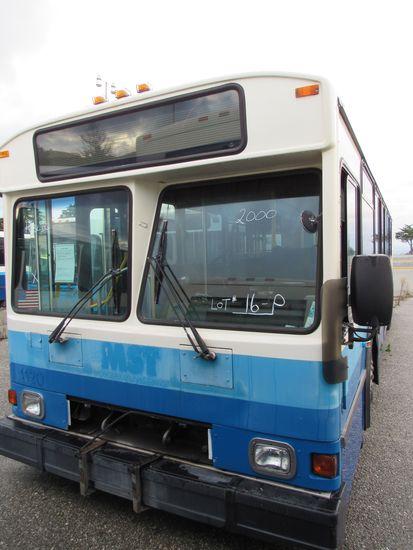 2000 GILLIG PHANTOM 35' PASSENGER BUS (NON RUNNER)