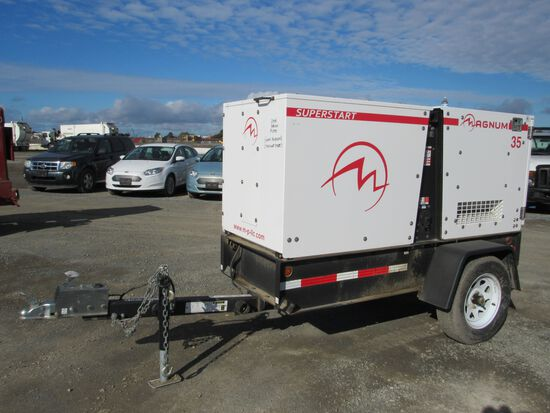 2014 MAGNUM MMG 35 TOWABLE GENERATOR (MECH ISSUES) (NON RUNNER)