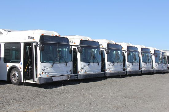 Online Only Bus Auction