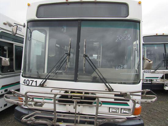 2003 NABI 40' PASSENGER BUS (NON RUNNER) (NON COMPLIANT)