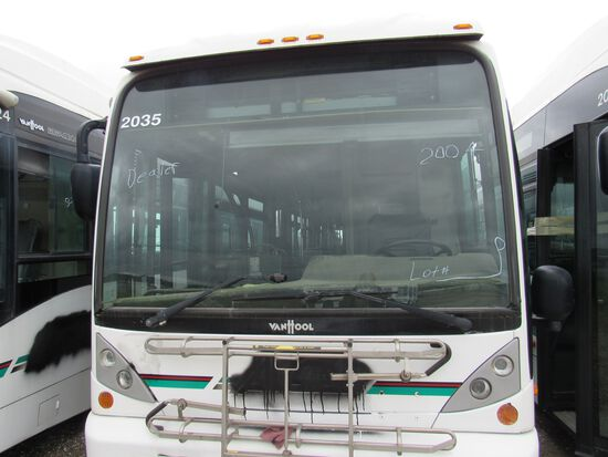 2004 VANHOOL 80' PASSENEGER BUS (NON RUNNER) (NON COMPLIANT)