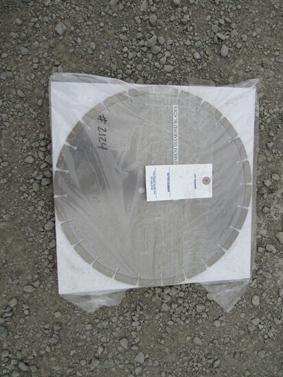 "NEW & UNUSED 3 PC 14"" DIAMOND BLADES"
