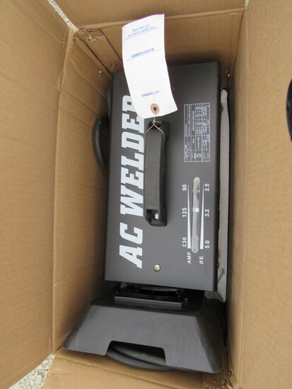 NEW & UNUSED ELECTRIC WELDER