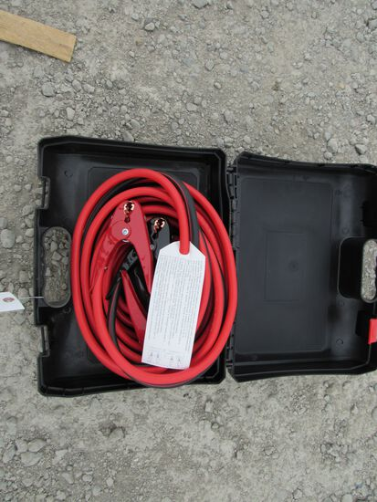 NEW & UNUSED 800 AMP 25' BOOSTER CABLES