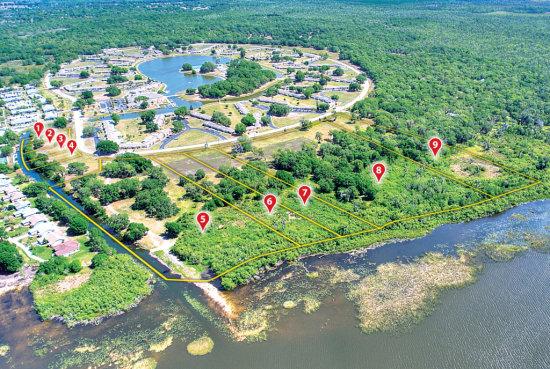 Lake Walk-in-Water Acreage Tract!
