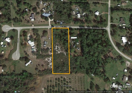 1.49± acre homesite located in Lake Wales, FL