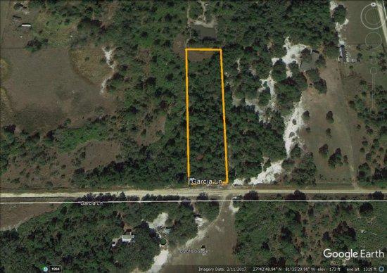 2.0± acre homesite located in Frostproof, FL
