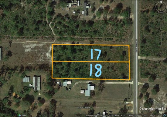 1± Acre Homesite, E. Frostproof, FL
