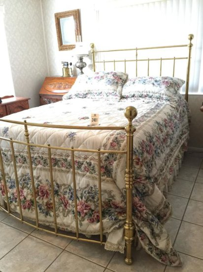 Ansonia Brass Bed