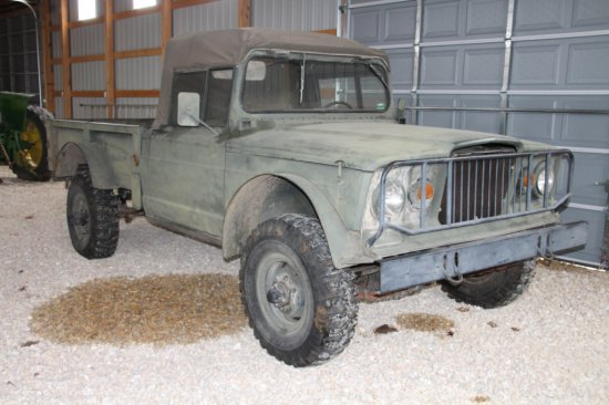 1968 Military Jeep, M715