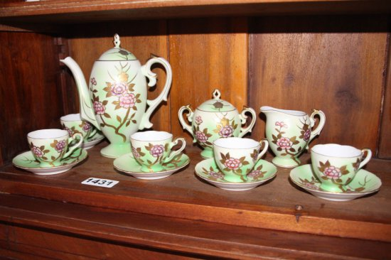 Porcelin tea set, Bavaria