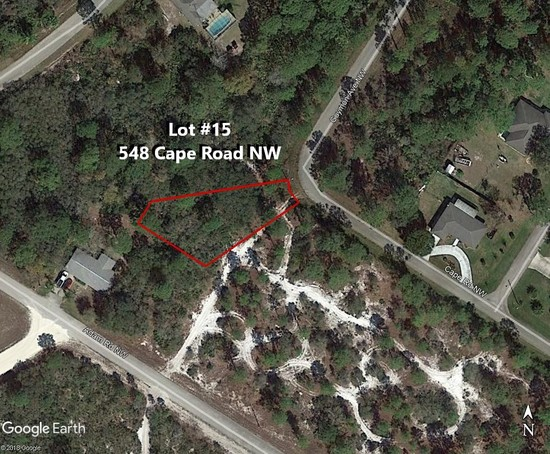 33' Frontage- Irregular-Placid Lakes Buildable Lot