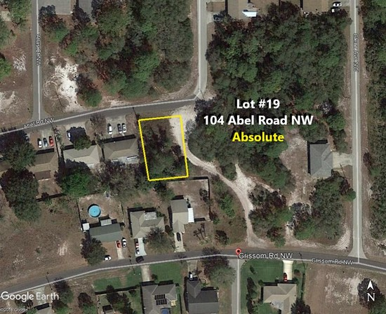 81' X 125' Absolute! Placid Lakes Buildable Lot