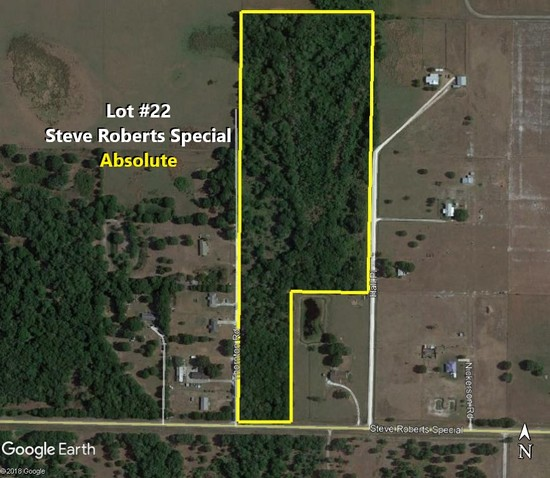 23± acres-Absolute!