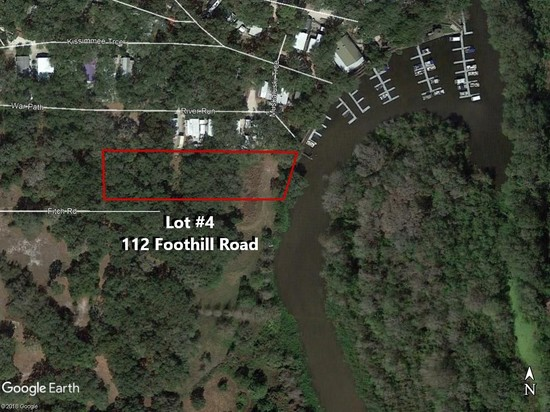 43,560± SF Kissimmee River Front Lot