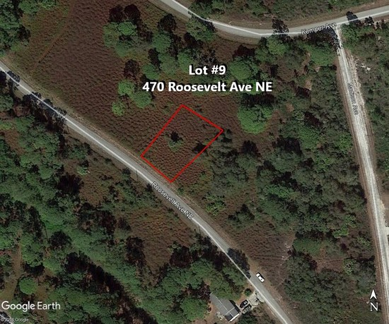 84' X 137'  Placid Lakes Buildable Lot