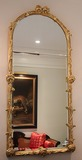 Gold Rubbed Mirror