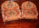 2 Beachley Brand Upholstered Chairs