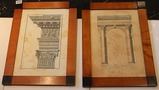 2 Greek Architectural Prints