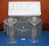 Waterford Candle Stands
