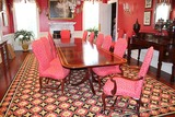 Triple Pedestal 14' Dining Room Table