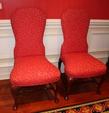 12 Queen Anne Side Chairs