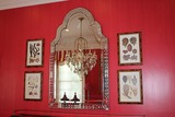 Venetian Queen Anne style Mirror