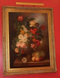 Elegant Gold framed Floral Painting