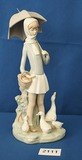 Lladro Girl with umbrella