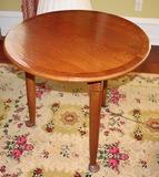 2 Round oak table