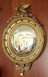 Convex Federal Eagle Mirror