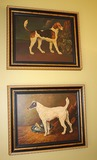 2 Dog Paintings