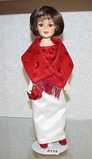 Ashton Drake  Jacqueline Kennedy Embassy Dinner, New Dehli Indian 1962 Doll