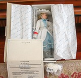 Danbury Mint Little Bo Peep porcelin doll