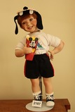 Walt Disney World porcelin boy doll