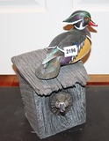 Wood Ducks Nesting wall hanging