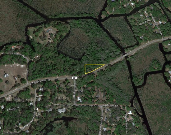 ABSOLUTE! Inverness FL Residential Wooded Lot