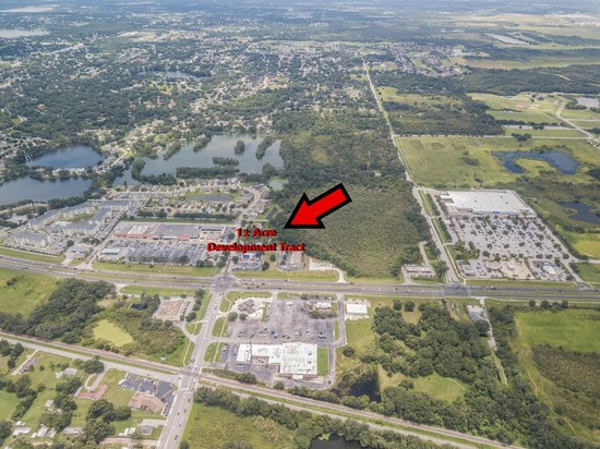 1± acre development tract adjacent to Imperial Christina Plaza of South Lakeland