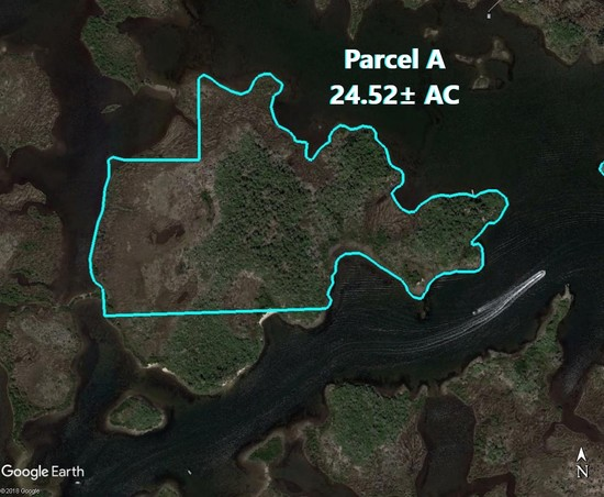 Citrus County Islands Parcel A, 24.52± acres