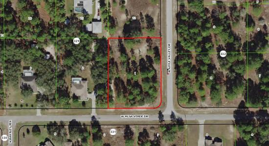 1.08± acre Pine Ridge Estates homesite