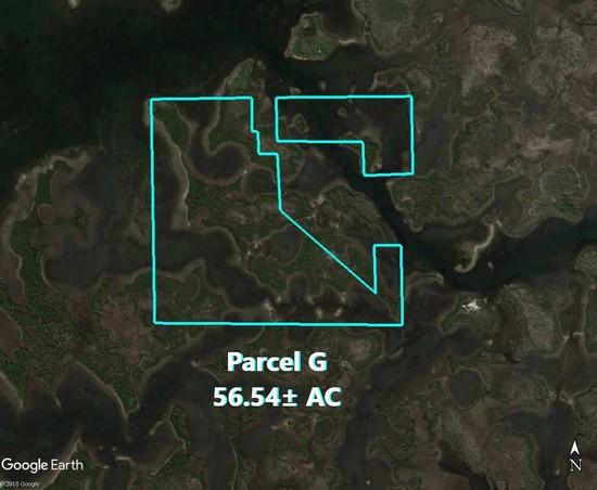 Citrus County Islands Parcel G,  56.54± acres