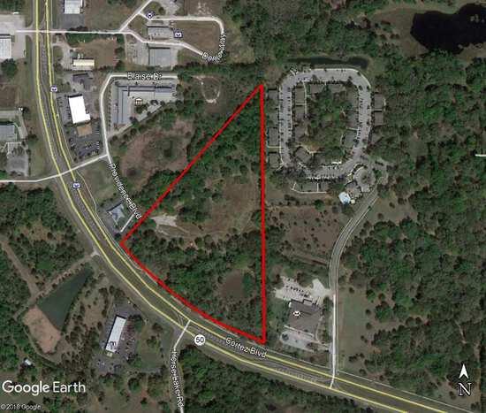 16.5± Acres Commercial Land, Brooksville, FL