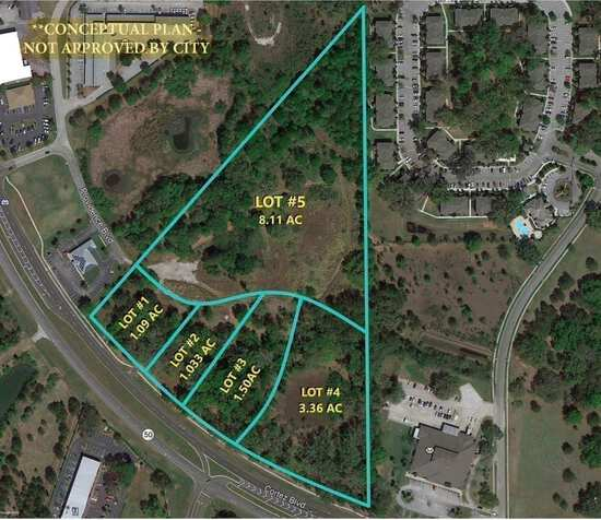 16.5± acres commercial tract