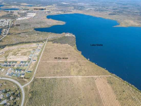 58± AC Lakefront Development Land, Auburndale, FL