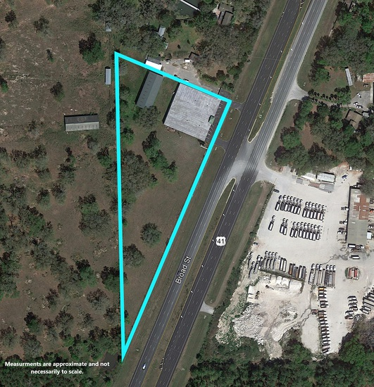 COMMERCIAL REAL ESTATE, COMMERCIAL BUILDING ON 4.1± AC IN BROOKSVILLE, FL