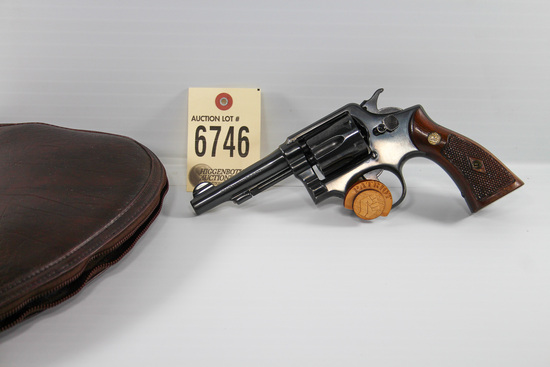 Smith & Wesson 38 revolver