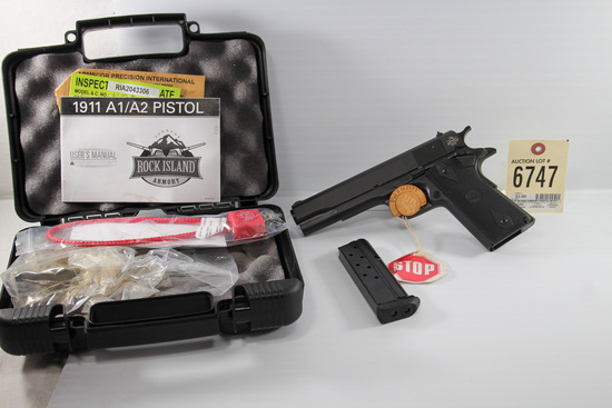 Rock Island 1911 .10 mm pistol