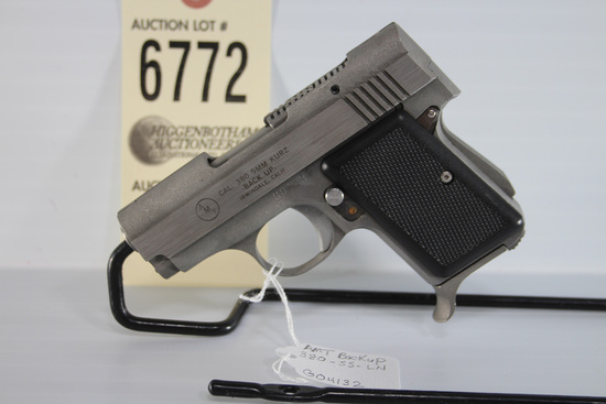 AMT, Back Up, .380 pistol